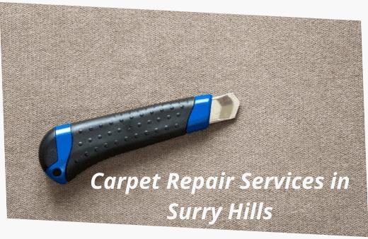 Carpet Repair Services in Surry Hills